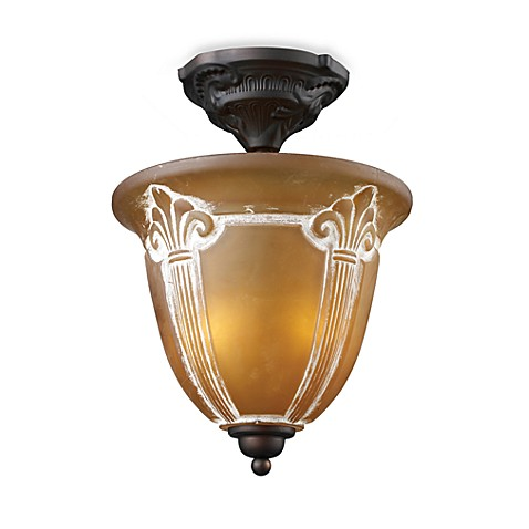 ELK Lighting Restoration 2-Light Semi-Flush Fixture