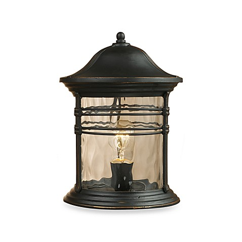 ELK Lighting Madison One-Light Outdoor Post Light
