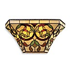 ELK Lighting Majestic 2-Light Sconce with Tiffany Style Glass