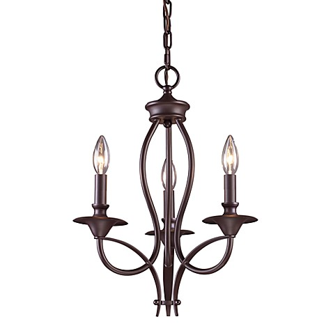 ELK Lighting Medford 3-Light Chandelier