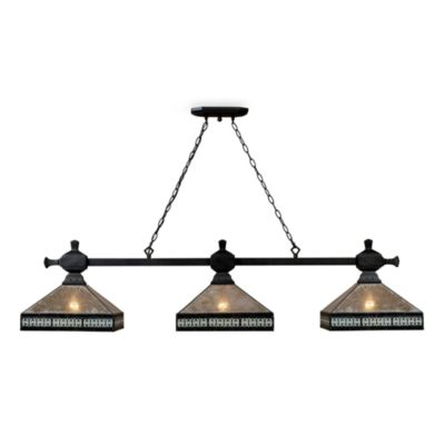 Elk Lighting Mica Filigree 3-Light Island Chandelier