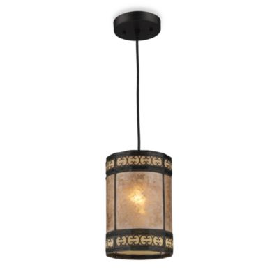 ELK Lighting Mica Filigree 1-Light Pendant Light