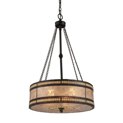 Elk Lighting Mica Filigree 3-Light Pendant Light