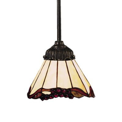 Elk Lighting 1-Light Mix-N-Match Pendant Lamp in Grape Trellis