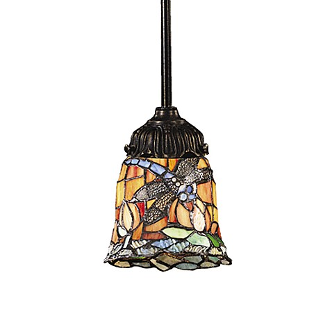 ELK Lighting 1-Light Mix-N-Match Pendant Lamp in Dragonfly
