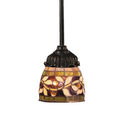 ELK Lighting 1-Light Mix-N-Match Pendant Lamp in Floral Vine
