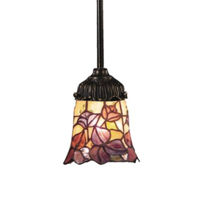 Elk Lighting 1-Light Mix-N-Match Pendant Lamp in Floral Garden