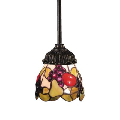 ELK Lighting 1-Light Mix-N-Match Pendant Lamp in Fruit