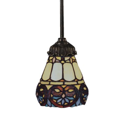 Elk Lighting 1-Light Mix-N-Match Pendant Lamp in Floral Heart