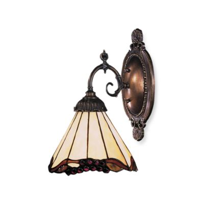 Elk Lighting 1-Light Mix-N-Match Sconce in Grapevine