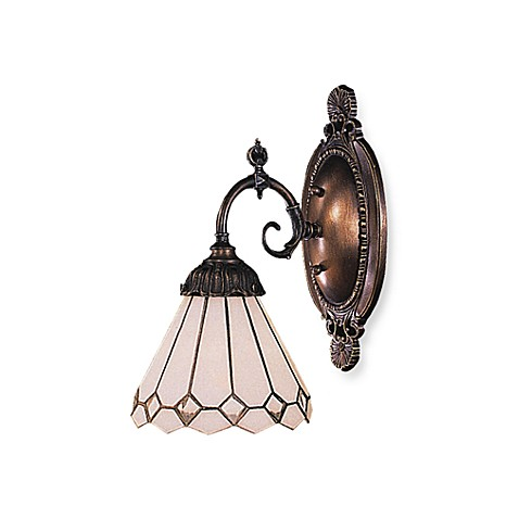ELK Lighting 1-Light Mix-N-Match Sconce in Clear Diamond