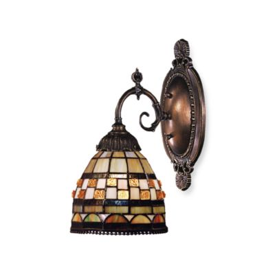 Elk Lighting 1-Light Mix-N-Match Sconce in Jewel Stone