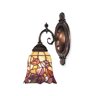 Elk Lighting 1-Light Mix-N-Match Sconce in Floral Garden