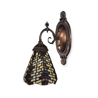 Elk Lighting 1-Light Mix-N-Match Sconce in Basketweave