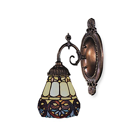 ELK Lighting 1-Light Mix-N-Match Sconce in Floral Heart