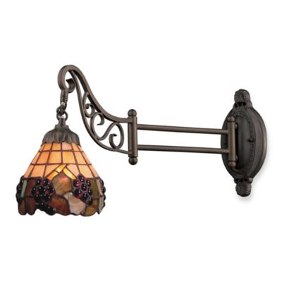 Elk Lighting 1-Light Mix-N-Match Swing Arm Wall Lamp in Grapevine