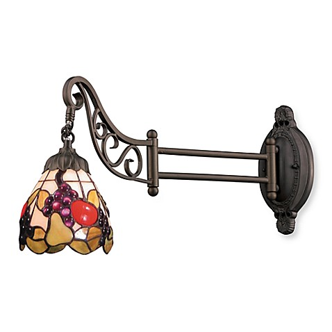 ELK Lighting 1-Light Mix-N-Match Swing Arm Wall Lamp in Fruit