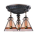 ELK Lighting Mix-N-Match Collection 3-Light Semi-Flush Pendant