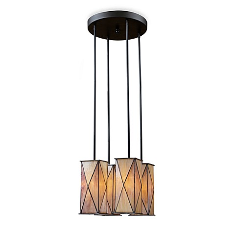 Landmark Lighting Grand Facet 4-Light Pendant