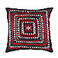 KAS® Mika 18-Inch Square Crochet Toss Pillow