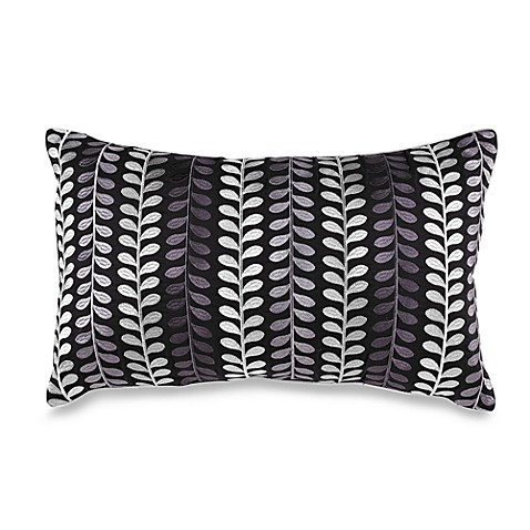 Kas® Roshni Black Breakfast Pillow