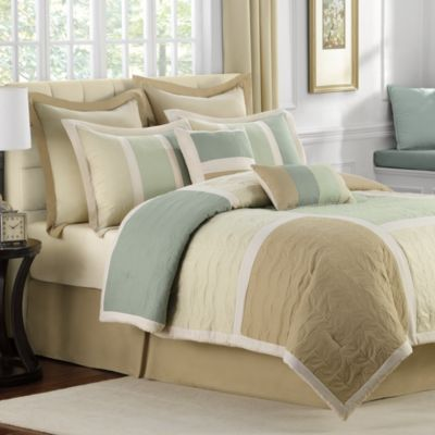 Hollandale 8-Piece Queen Comforter Set
