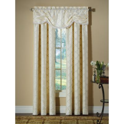 Blue and Cream Curtains