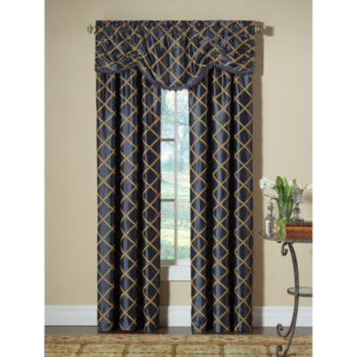 Designers' Select™ Francesca Rod Pocket 108-Inch Window Curtain Panel in Blue