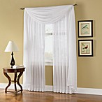 Caprice Sheer Rod Pocket Window Curtain Panels