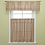 Maison Kitchen Window Curtain Tiers - Linen