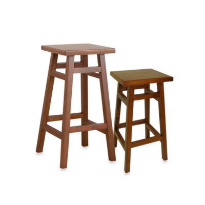 Carolina Chair & Table O'Malley 24-Inch Pub Counter Stool in Walnut