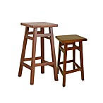 Carolina Chair & Table O'Malley Pub Stool in Walnut