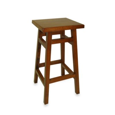 Carolina Chair & Table O'MAlley Pub Counter 24-Inch Stool in Walnut