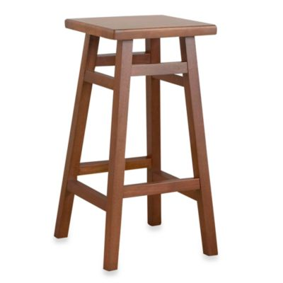Carolina Chair & Table O'MAlley Pub Counter 30-Inch Stool in Walnut