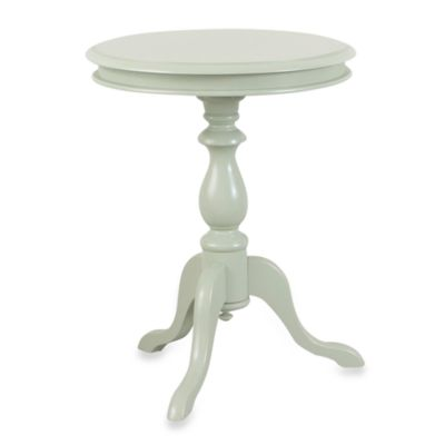 Carolina Chair & Table Antique Gilda Side Table in Ivory