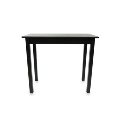 Carolina Chair & Table Pub Bar Table in Antique Black