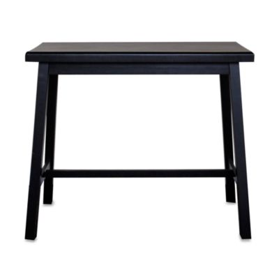 Carolina Chair & Table Antique Asian Bar in Black