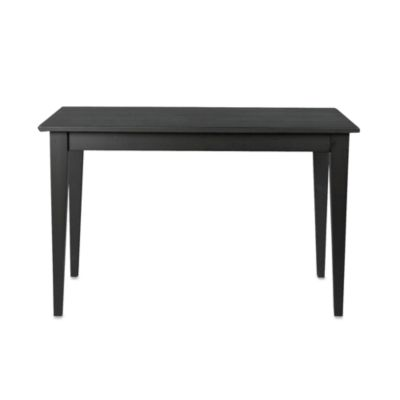 Carolina Chair & Table Antique Prairie Dining Table in Black