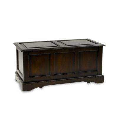 Carolina Chair & Table Company Antique Camden Blanket Chest in Chestnut