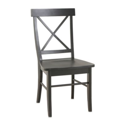 Carolina Chair & Table Antique Essex Chair in Black