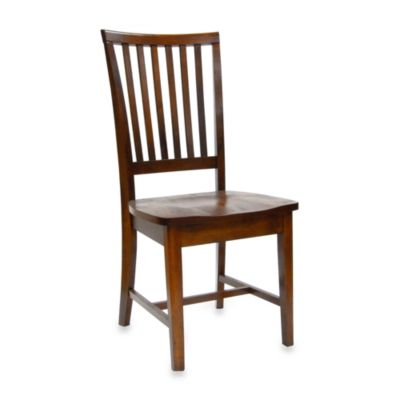 Carolina Chair & Table Hudson Chair in Chestnut