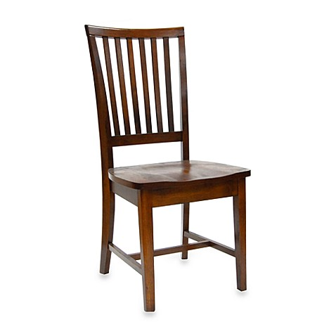 Carolina Cottage Hudson Dining Chair in Chestnut