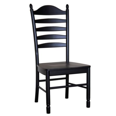 Carolina Chair & Table Antique Whitman Chair in Black