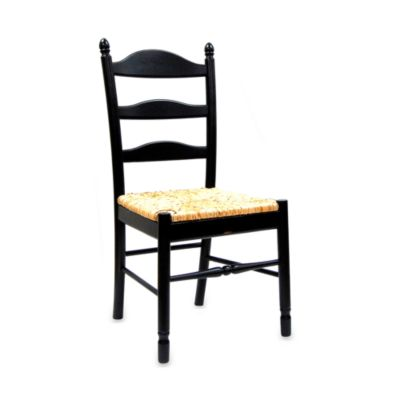 Carolina Chair & Table Antique Vera Chair in Black