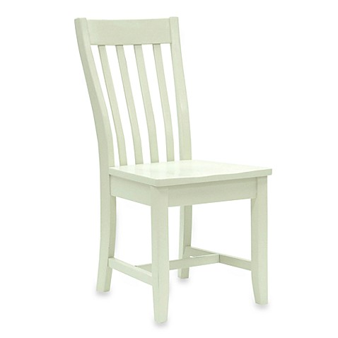 Carolina Chair & Table Company Antique Prairie Chair in Ivory