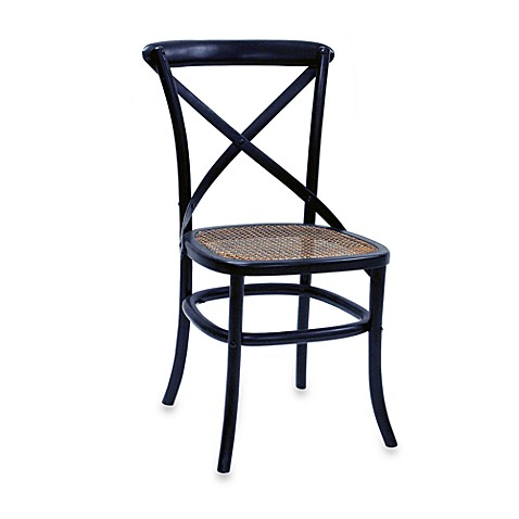 Carolina Chair & Table Antique Toulon Chair in Black (Set of 2)