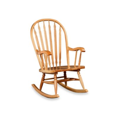 Carolina Chair & Table Company Hudson Rocker in Natural