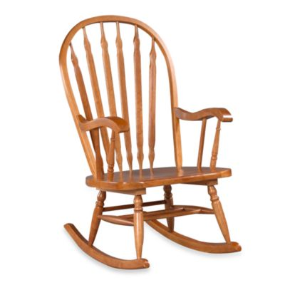 Carolina Chair & Table Hudson Rocker in Oak