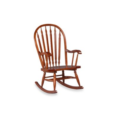 Carolina Chair & Table Hudson Rocker in Cherry