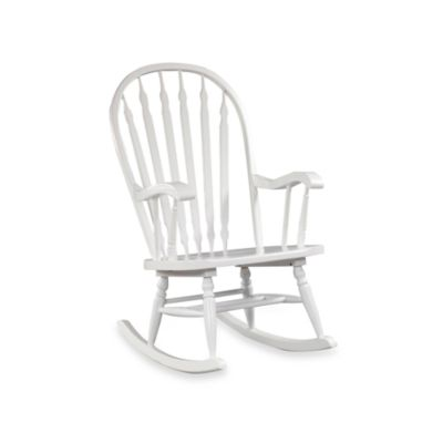 Carolina Chair & Table Hudson Rocker in White